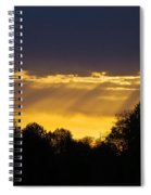 Sunset Rays 2014 Spiral Notebook