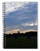 Sunset Rays 5 Spiral Notebook