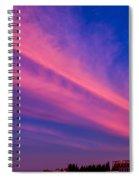 Sunset Rays Spiral Notebook