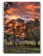 Sunset Reflections And Life Spiral Notebook