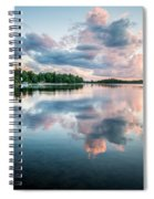 Sunset Relections Spiral Notebook