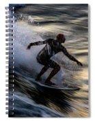 Sunset Ride 2 Spiral Notebook