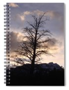 Sunset Ridge Spiral Notebook