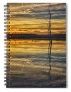 Sunset Riverlands West Alton Mo Dsc03317 Spiral Notebook
