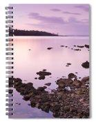 Sunset Rocks Spiral Notebook