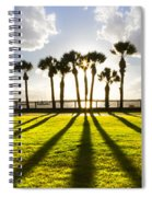 Sunset Sentinels Spiral Notebook