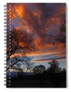 Sunset September 24 2013 Spiral Notebook