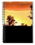 Sunset Silhouette Spiral Notebook