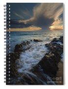 Sunset Spillway Spiral Notebook