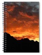 Sunset Splendor Spiral Notebook