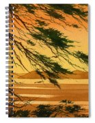 Sunset Splendor Spiral Notebook