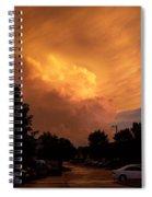 Sunset Storm Spiral Notebook