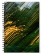 Sunset Swipe Spiral Notebook