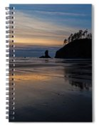 Sunset Tide Spiral Notebook