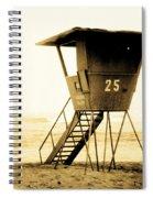 Sunset Tower 25 Spiral Notebook