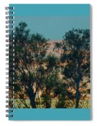 Sunset Trees Spiral Notebook