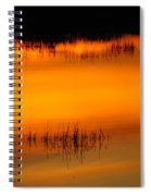 Sunset Tupper Lake Spiral Notebook