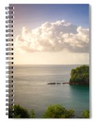 Sunset Twilight Spiral Notebook