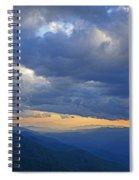 Sunset Under The Clouds Spiral Notebook