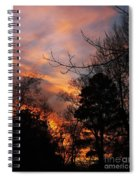 Sunset View From The Path Spiral Notebook
