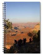 Sunset Vigil Grand Canyon Spiral Notebook