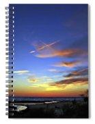 Sunset X Spiral Notebook
