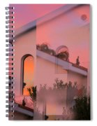 Sunsets On Houses Spiral Notebook