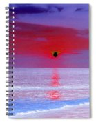Sunsets On The Water - Photopower 01 Spiral Notebook