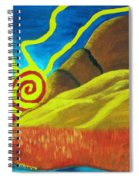 Sunsetting On Dreams Spiral Notebook