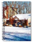 Sunshine After The Snow Spiral Notebook