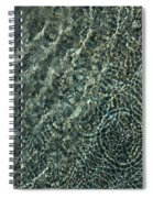 Sunshine And Ripples Spiral Notebook