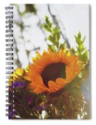 Sunshine And Sunflowers Spiral Notebook
