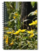 Sunshine Flowers 2 Spiral Notebook