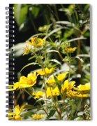 Sunshine Flowers Spiral Notebook
