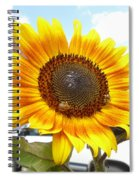 Sunshine In Country Farm Spiral Notebook