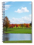 Sunshine On A Country Estate Spiral Notebook