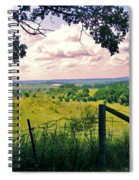 Sunshine On The Meadow Spiral Notebook