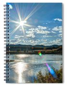 Sunshine On The Missouri Spiral Notebook