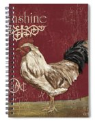 Sunshine Rooster Spiral Notebook