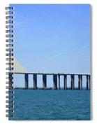 Sunshine Skyway Bridge II Tampa Bay Florida Usa Spiral Notebook