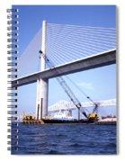 Sunshine Skyway Bridge Spiral Notebook