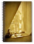 Sunshine Through The Window Spiral Notebook