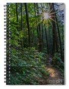 Sunstar Along The Trail Spiral Notebook