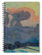 Sunup On A Snowsquall Spiral Notebook