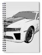 Super Bee Camaro Spiral Notebook