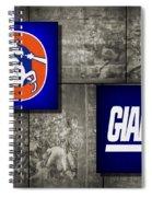 Super Bowl 21 Spiral Notebook