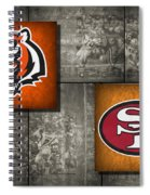Super Bowl 23 Spiral Notebook