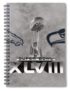 Super Bowl Xlvlll Spiral Notebook