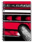 Super-charged Duesenberg Spiral Notebook