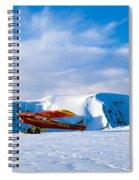 Super Cub Piper Bush Airplane Spiral Notebook